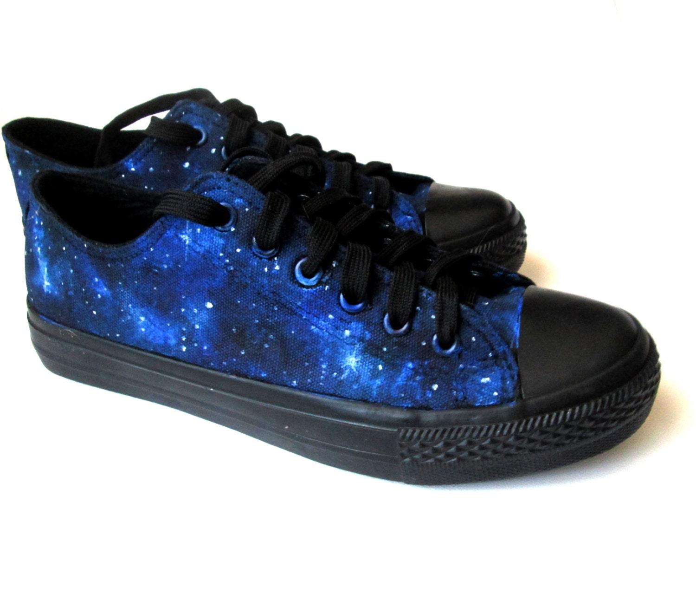 Custom handpainted galaxy sneakerspersonalized shoes galaxy