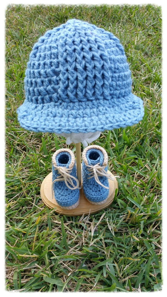 Crocheting Is Hard : Construction set - Hard Hat - Crochet Boots and Hat for Baby Boys ...