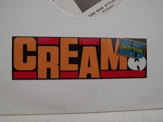 Wu Tang Clan Vinyl Sticker Hip Hop Decal Epmd Cash Rules