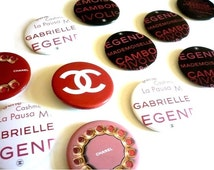 CHANEL ~ Authentic Collectible Brooch/Pin/Badge Logo CC