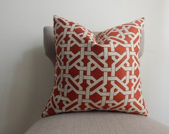 Designer 18x18 or 19x19 or 12x20 Pillow Cover,Throw Pillow, decorative pillow,Both Sides Have The Same Fabric