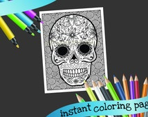 Popular Items For Printable Coloring On Etsy