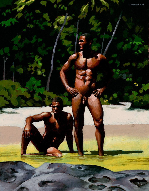 Brazilian mature nude