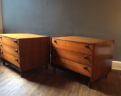 Mid Century Modern Dresser Pair Of Bachelors By Vintadelphia