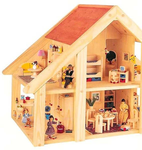 Wooden Toys Catalog : Bodo hennig vintage wooden toys dolls house furniture catalog