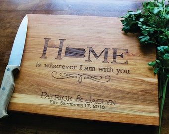 Personalized Cutting Board, Christmas Gift, Home Decor, Home, State Cutting Board (Pennsylvania ANY STATE), Wedding, Hostess, Engagement