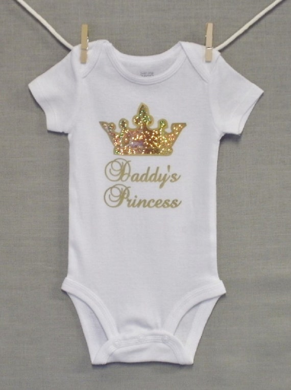 Daddy Princesssparklenew Dadnewborn Baby Girlbaby