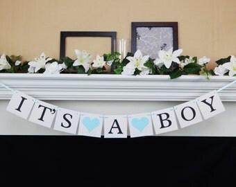 Its A Boy banner, boy baby banner, Baby Shower Banner, boy baby shower decorations, boy baby shower, baby shower decoration, baby boy banner