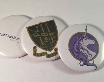 Delta Phi Epsilon Pocket Mirrors and Magnets