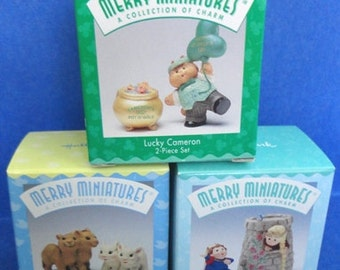 Hallmark Miniatures Set #12