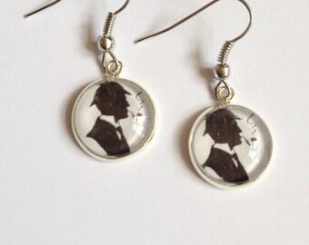 Sherlock Holmes Earrings