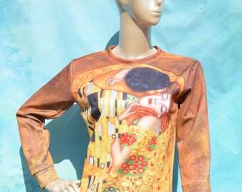 The Kiss by Gustav Klimt Sweatshirt