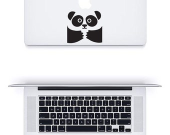 Macbook Pro Panda Bear Air Sticker Decal Laptop Notebook Graphic Transfer Skin Cover Sleeve Case Vinyl Sticker Decoration