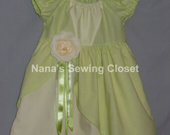 Tiana inspired Dress - Princess and the Frog