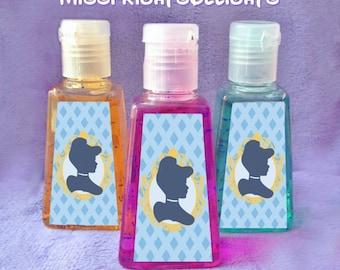 Hand Sanitizer Bridal Shower Favors Hand Sanitizer Favors Etsy