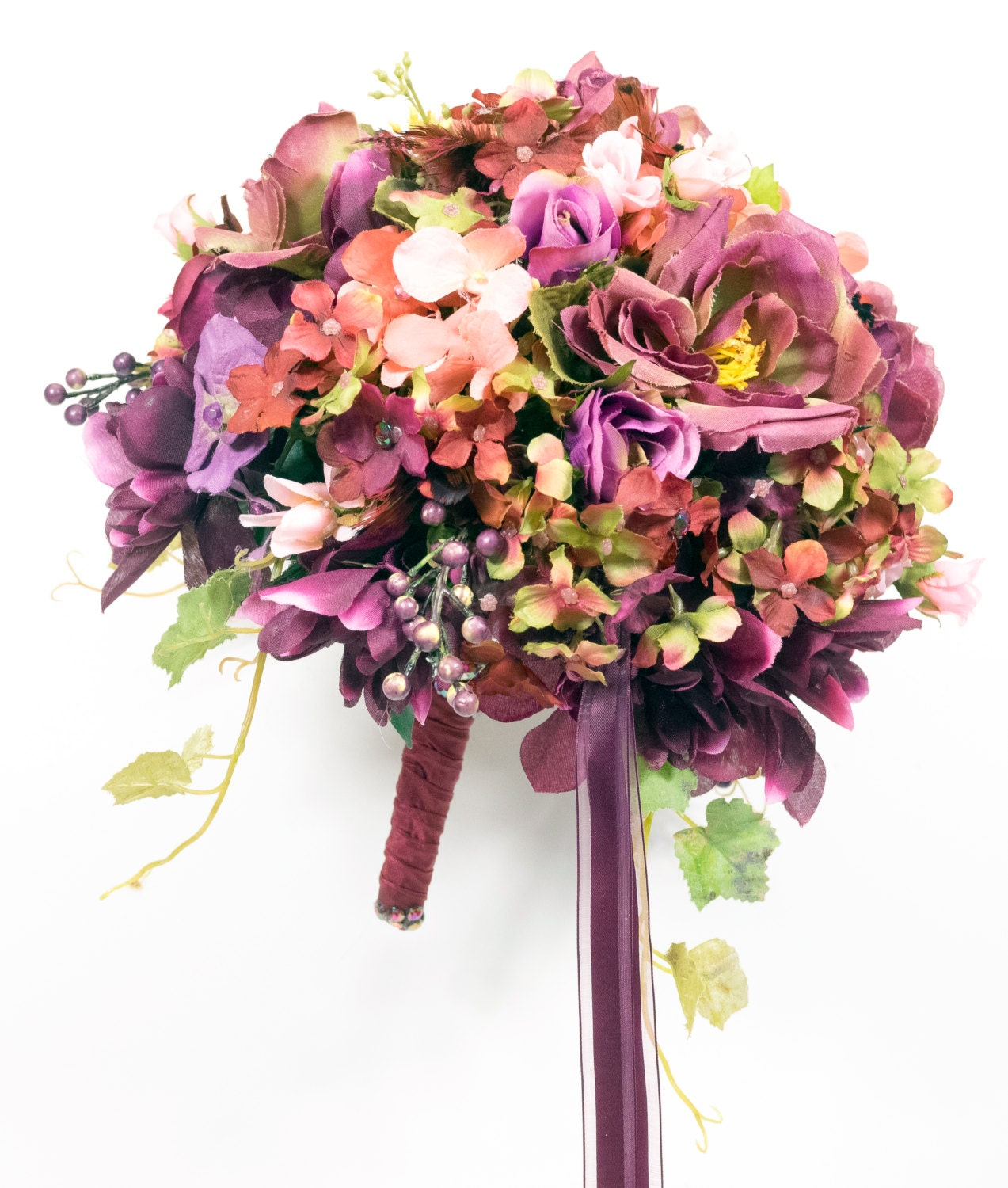 Wedding Bouquet Packages Silk : Silk flowers wedding bouquets packages by gailsforeverflowers