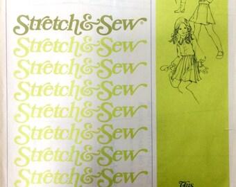 Stretch & Sew 867 Girls' Gored Skirts