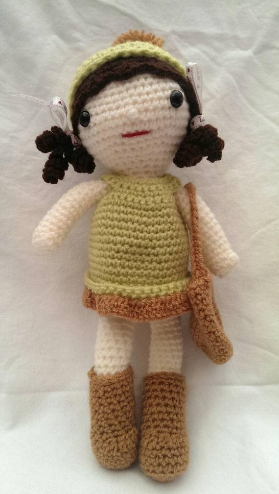 Amigurumi Crochet Rag Doll