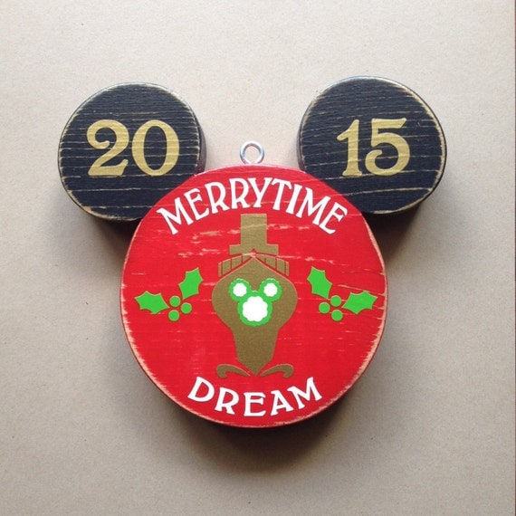 Disney Cruise DREAM Ornament READY To Ship By