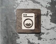 articles uniques correspondant salle de lavage etsy. Black Bedroom Furniture Sets. Home Design Ideas