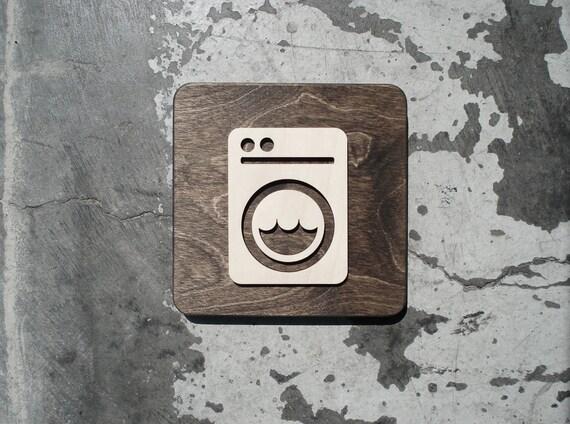 linge salle machine laver signe industriel moderne 6. Black Bedroom Furniture Sets. Home Design Ideas