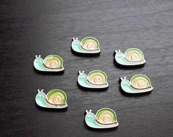Snail Floating Locket Charm for Floating Lockets-Gift Idea