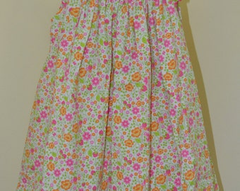 SALE Smocked Dress Birthday Girl - Birthday Party Dress - Toddler Birthday Dress