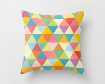 Geometric pillow, geometric cushion,modern pillow,decorative pillow,kids,throw pillow,cushion cover,kids bedding,contemporary pillow,nursery