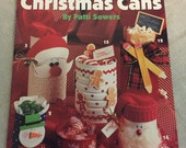 "Vintage Craft Booklet, ""Cute & Crafty Christmas Cans"", Instructional, How To Directions, 1994 Publication, Special Events, Holiday Favors"