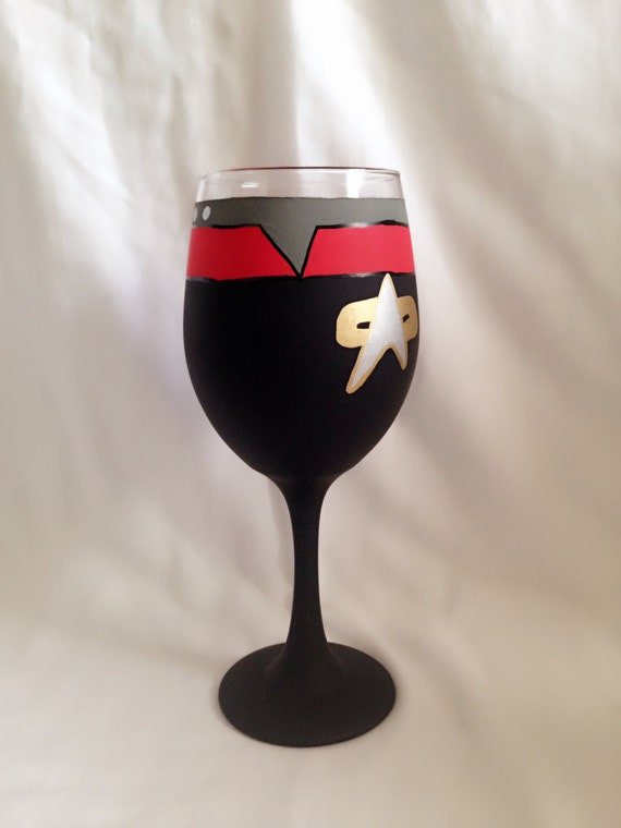 Star Trek Wine Glass | Star Trek Gift Guide