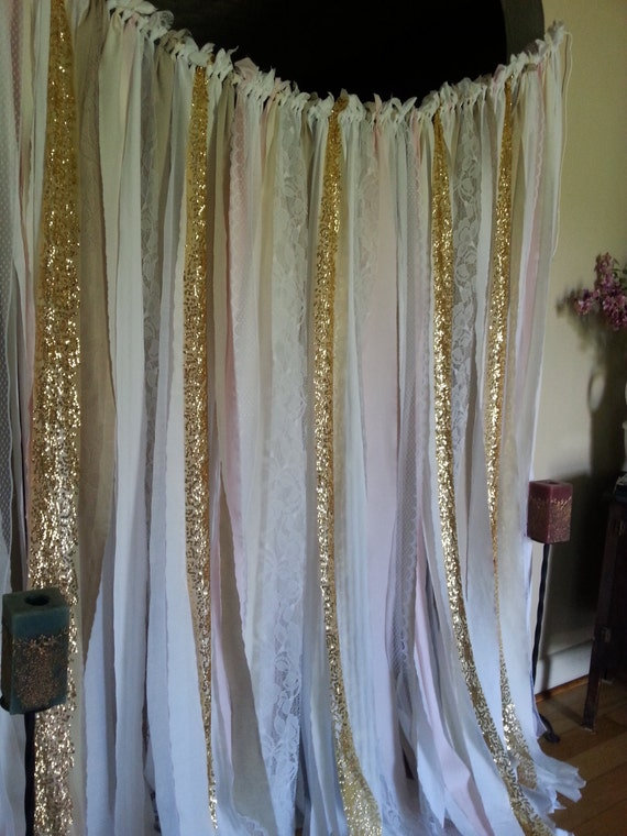 Gold Sequin Curtain Garland Silver Or Gold Sparkle Gold Pink