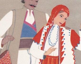 Serbian Folk Art Etsy