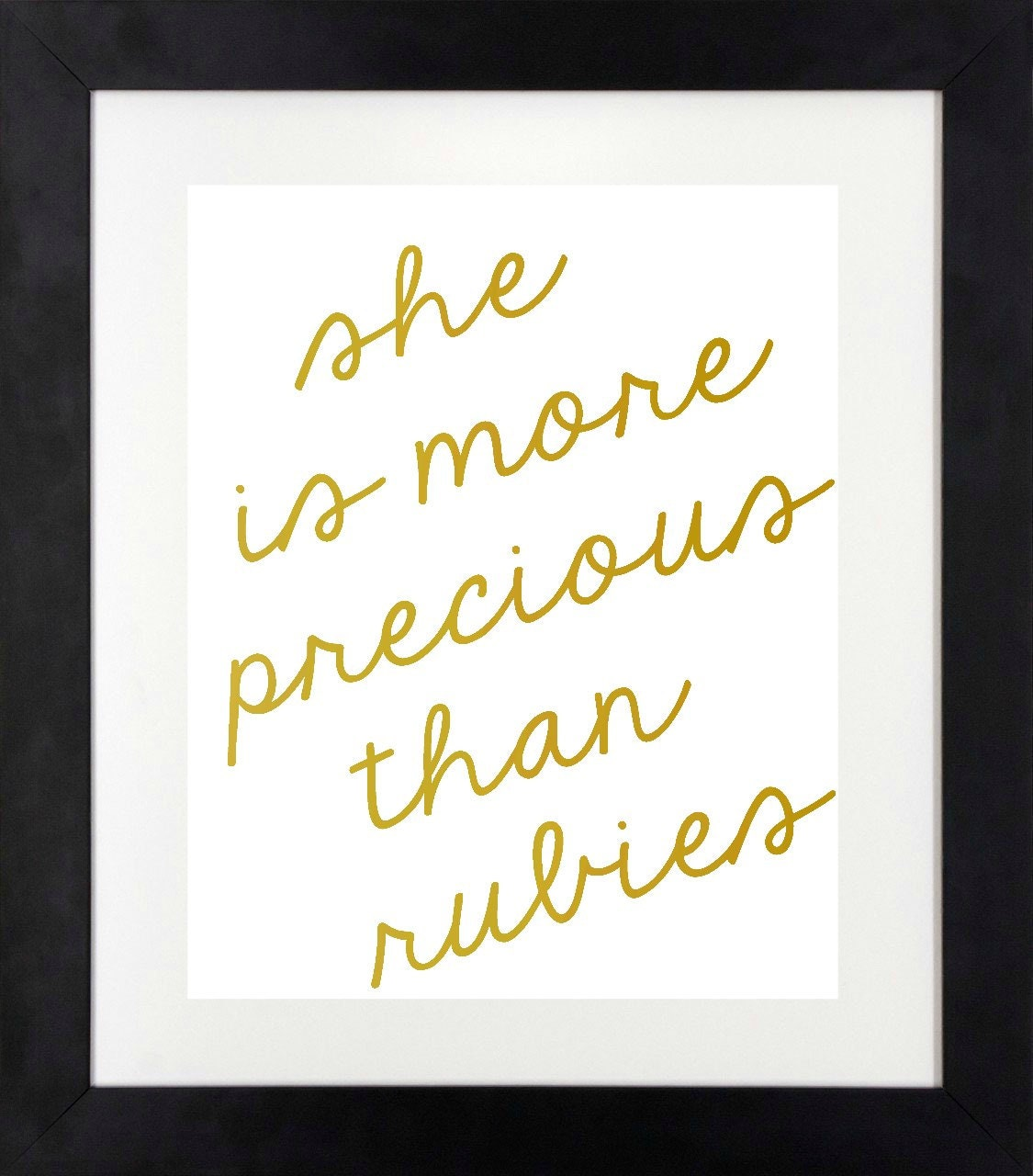 more precious than rubies girl nursery wall art by