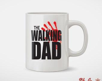 The Walking Dad Fathers Day Coffee Mug