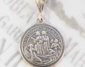 Medal - Saintes Maries & Sainte Sarah - Sterling Silver - 23mm