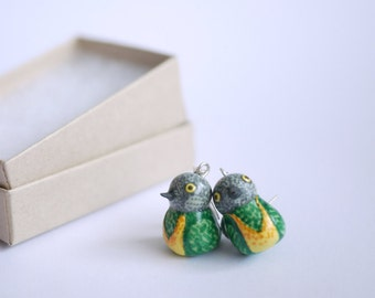 Senegal Parrot Earrings