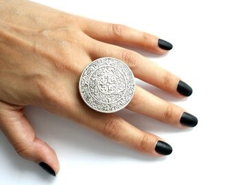 OTTOMAN RING / / silver plated jewelry ring/Turkish