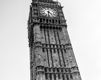 Big Ben, London Art, Big Ben Print, London Print, Big Ben Art, London Photography, Big Ben Photography