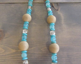 Turquoise & Twine Necklace