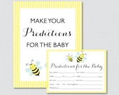 Bumble Bee Baby Shower Pr...