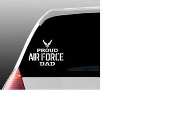 Proud Air Force Relative Car Window Decal