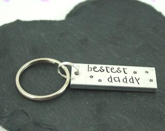 Bestest Daddy Keyring