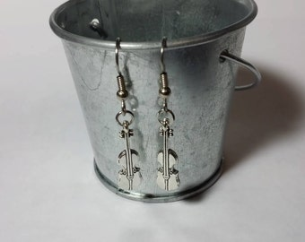 Violin Earrings