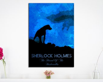 Sherlock Holmes - Hound of the Baskervilles - Art Print - (Available In Many Sizes)