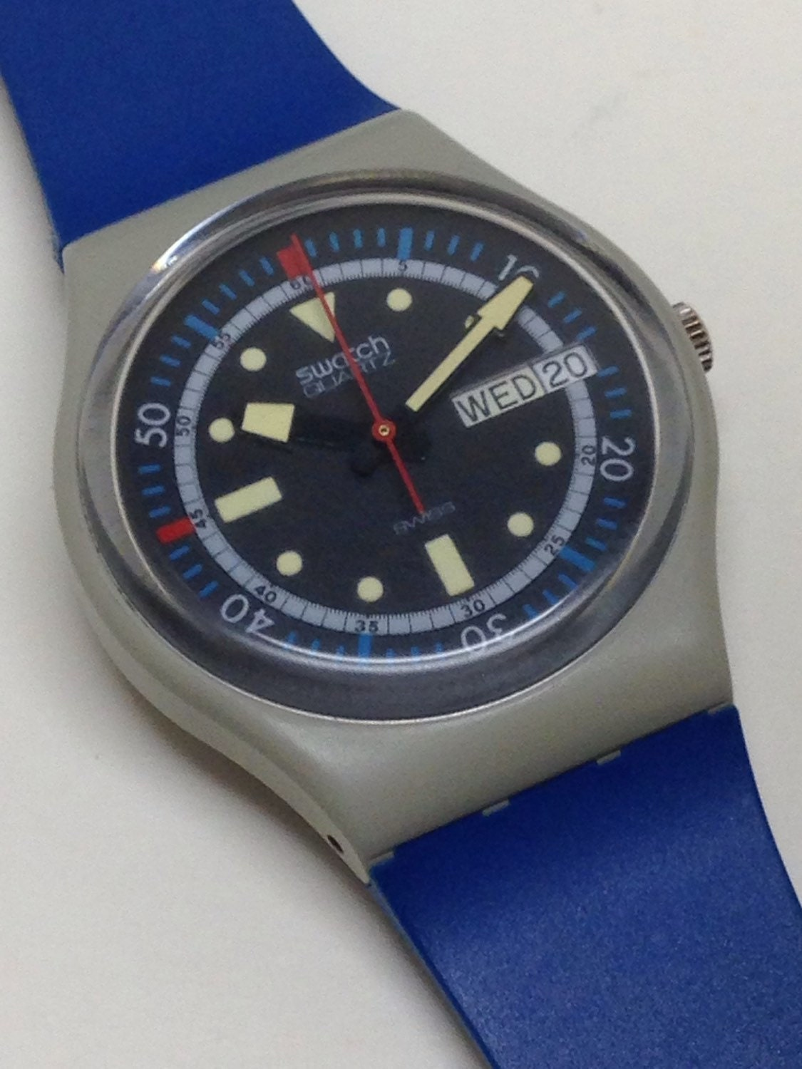 Vintage swatch watch calypso diver gm701 1985 by thatissofunny - Swatch dive watch ...