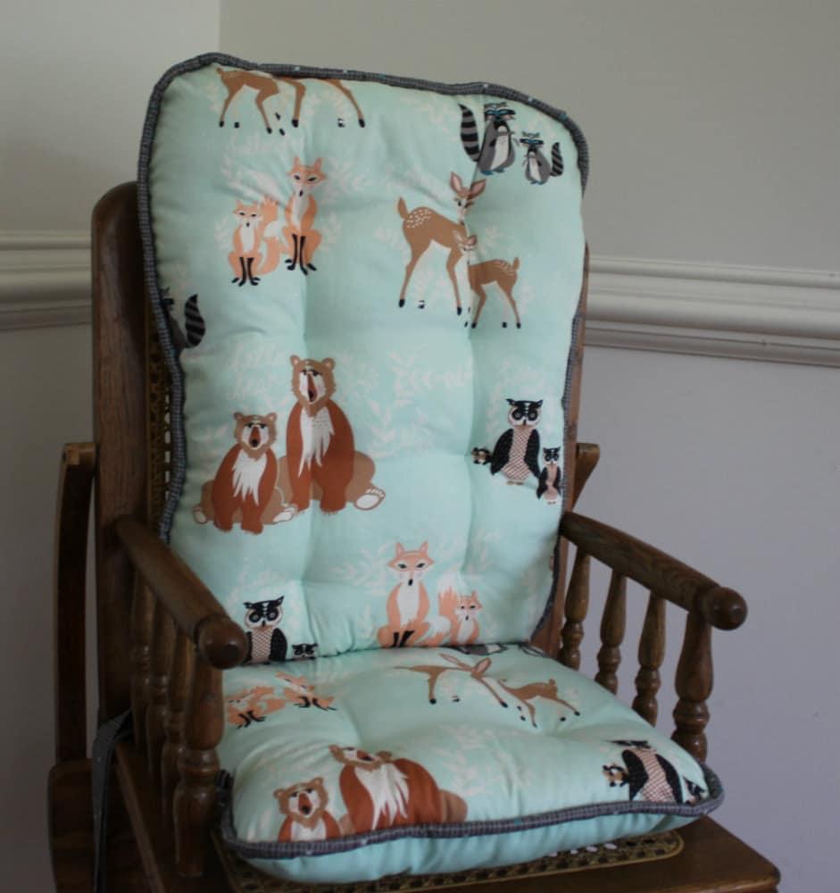 hello bear high chair cushions wooden highchair cover