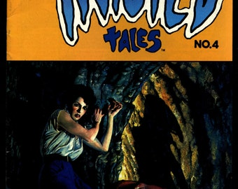 TWISTED TALES #4 Bruce Jones Don Lomax, John Bolton Horror Fantasy Underground Anthology