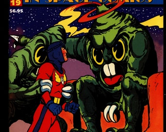 MEN of MYSTERY Space Comics #19 Rocky Jones Captain Video Space Sentinel Illustrated Superhero Science Fiction Fantasy Comic Book