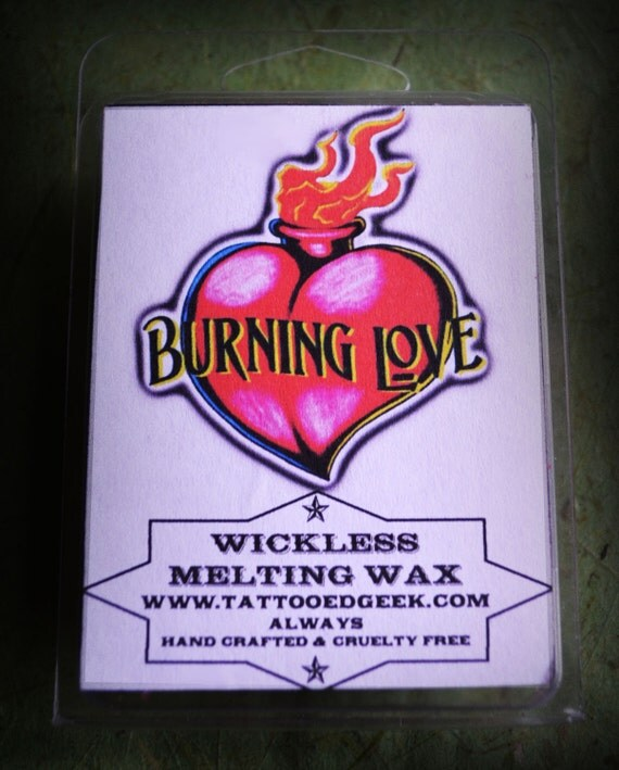 Burning Love Melting Wax Cubes By TheQuixoticEye On Etsy