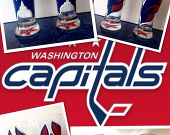 Washington Capitals Pilsner Glass